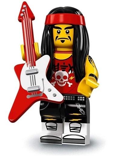 Lego Lego Minifigür - Ninjago Movie - 71019 - Gong & Guitar Rocker Renkli